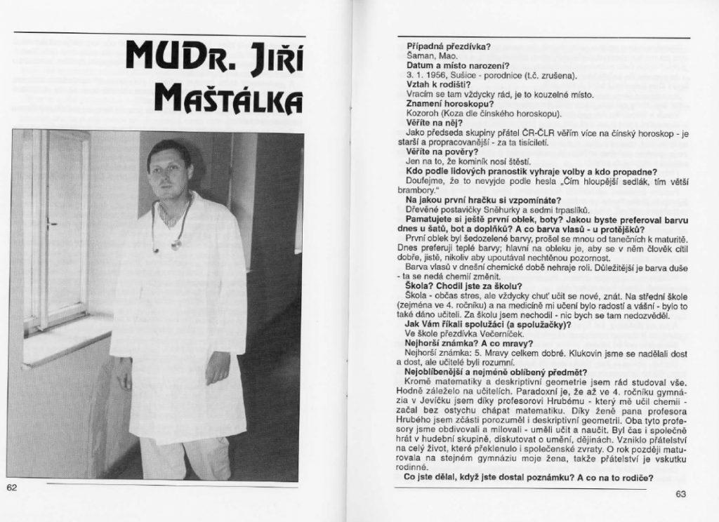 Jiří Maštálka - Jsme taky jenom lidi