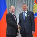 V.V. Putin a Jiří Maštálka